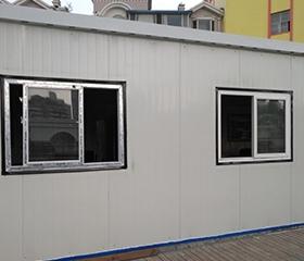 彩板房安装整体性生活区用房