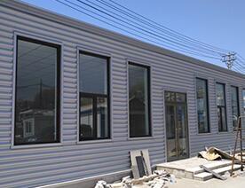 集装箱彩板房安装建造